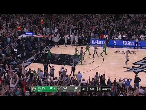 4th Quarter, One Box Video: San Antonio Spurs vs. Boston Celtics