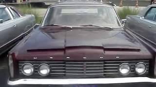 1965 MERCURY COLONY PARK WAGON - NEW LOOK MIMICS LINCOLN