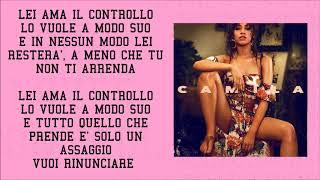 Camila Cabello - She Loves Control (Traduzione)