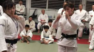 Judo Grip Training
