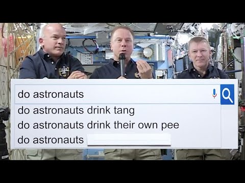 Thumbnail: NASA Astronauts Answer The Web's Most Searched Questions | WIRED