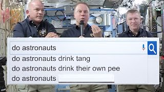 NASA Astronauts Answer The Web