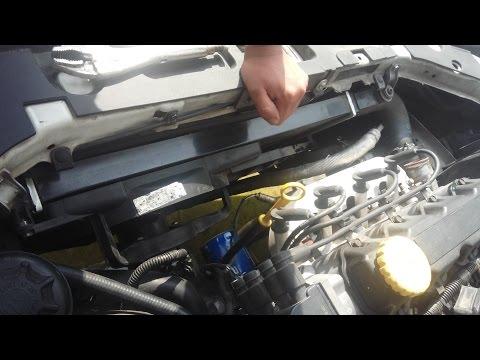 Como desmontar el radiador de un chevy/Corsa