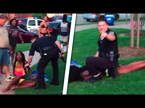 Raging Cop Attacks Black Teens At Pool Party In McKinney, Texas