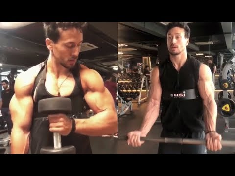 Tiger Shroff Killer BICEP WORKOUT For Mass