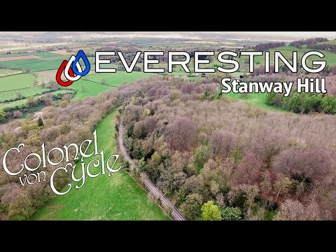 EVERESTING STANWAY HILL - CYCLING THE HEIGHT OF EVEREST
