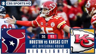 Texans vs. Chiefs Post Game Analysis: Patrick Mahomes throws five TDs | CBS Sports HQ
