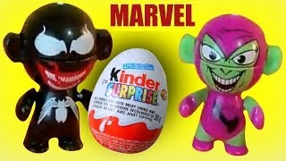 5 Kinder Surprise eggs Special edition Marvel Avengers Twistheads MsDisneyreviews