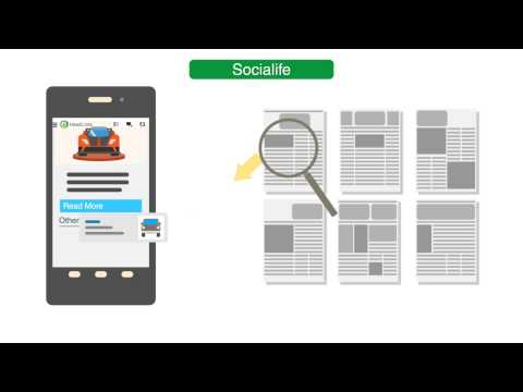 Socialife News : Related Content Recommendations