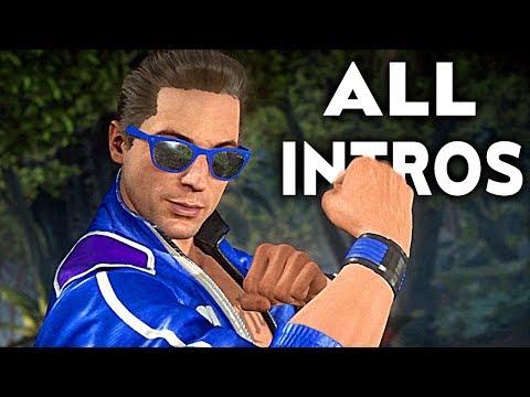 MORTAL KOMBAT 11 Johnny Cage All Intros Dialogue Character Banter MK11