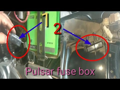 How to test fuse box testing for Pulsar 150/180/220CC - YouTube In Fuse Box on 220 switch box, 220 volt wiring box, breaker box, 220 power box, 220 electrical box,