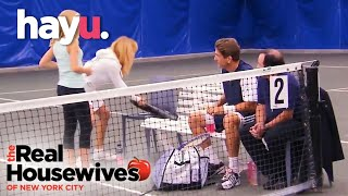 The Tennis Match! | The Real Housewives of New York City