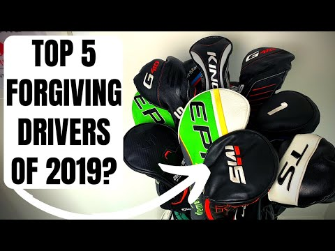 Top 5 Forgiving Drivers For Mid To High Handicaps Of 2019?!