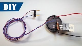 How To Make Water Level Indicator Alarm Using A Transistor | DIY Flood Sensor - Simple Circuit