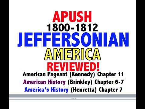 American Pageant Chapter 11 APUSH Review