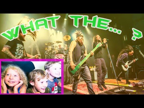 KIDS REACTION TO KORN! - (OUR 200TH VIDEO!)