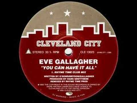 Eve Gallagher - 'You Can Have it All' (remix)