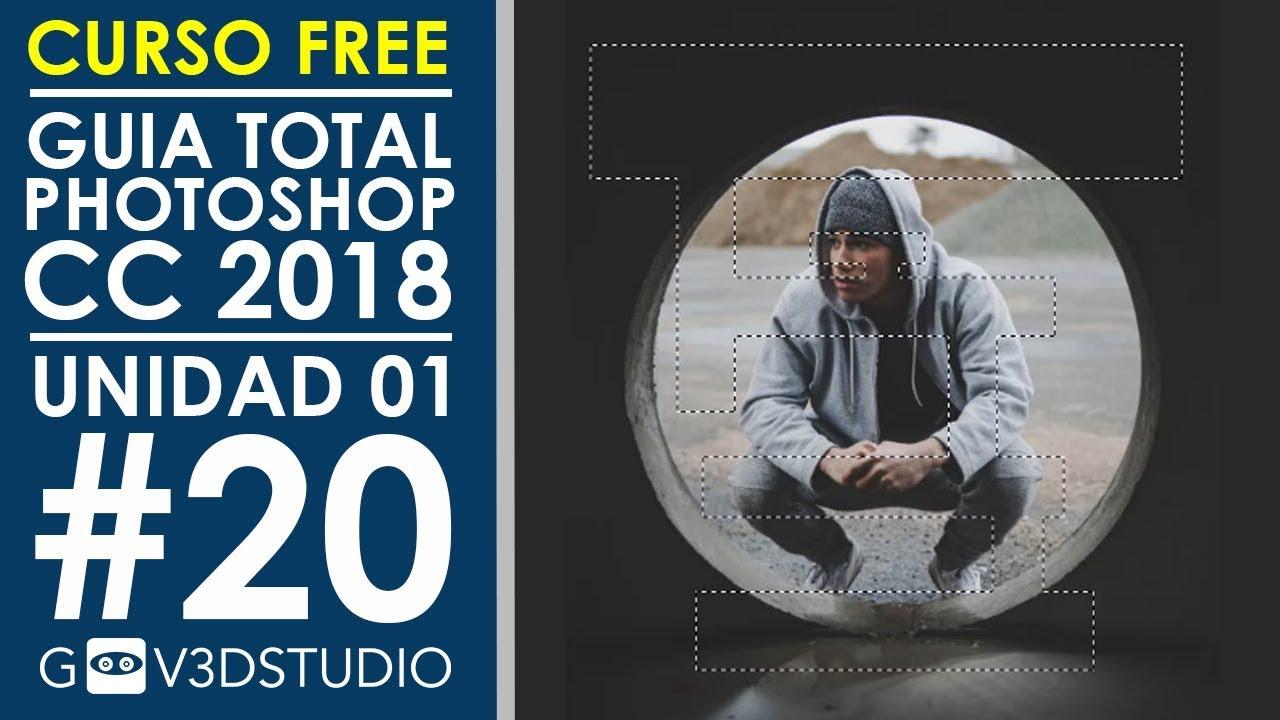 Guía Total Photoshop CC 2018 [U01_20] Herramienta de Marco y ...