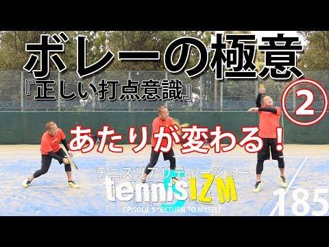 テニスボレーの極意その2完了シングルスもダブルスも強化につながるポイントtennisism185