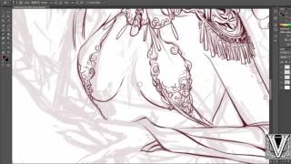Centaurs- sketch & line