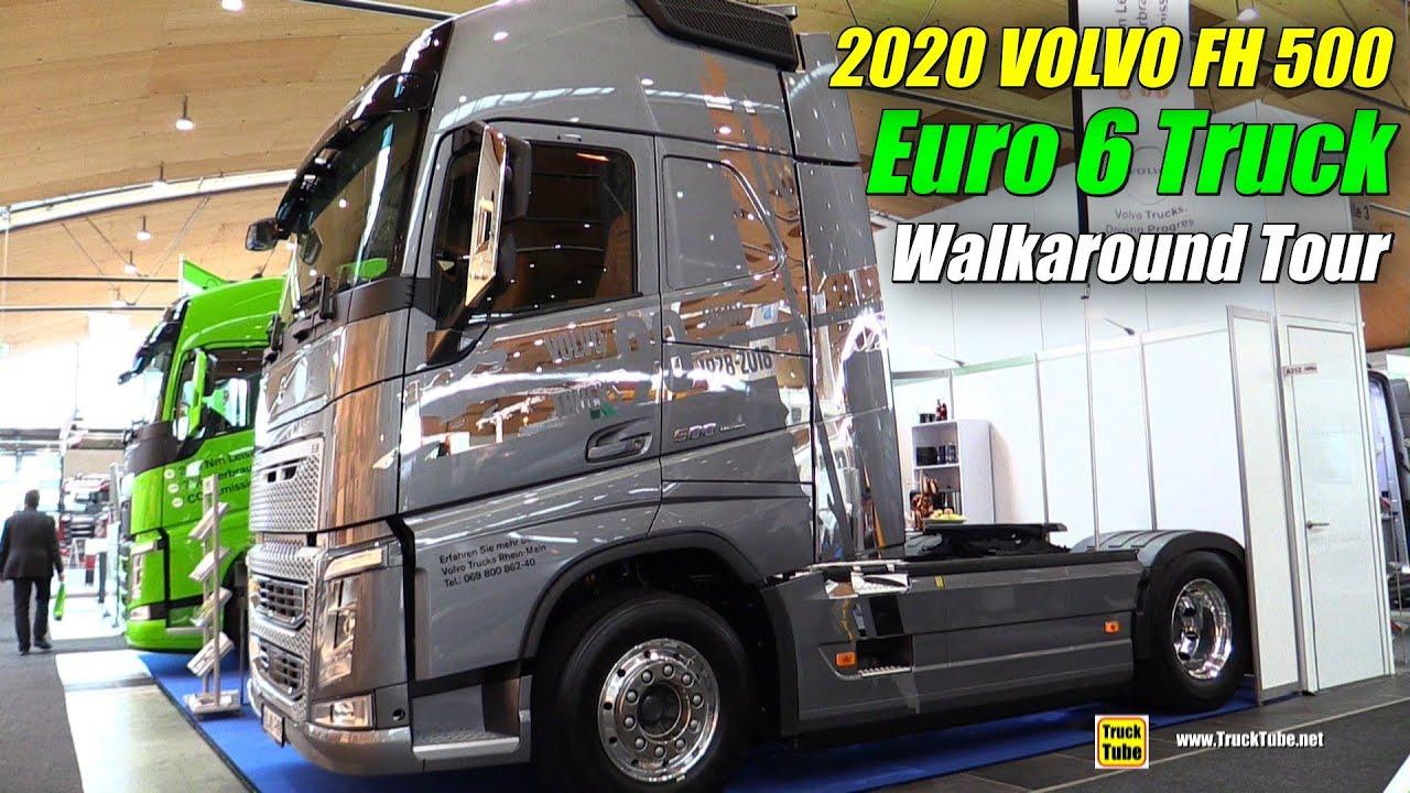 2020 Volvo Fh 500 Euro6 Truck Exterior Interior Walkaround 2019 Nufam Karlsruhe Youtube