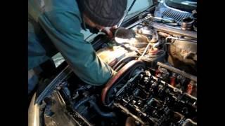 видео Замена маслосъемных колпачков Альфа Ромео