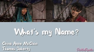 What S My Name China Anne McClain Thomas Doherty Color Coded Lyrics