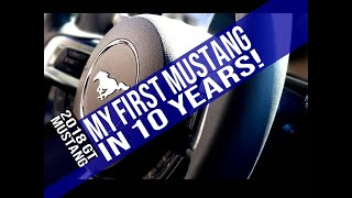 Buying my FIRST Mustang in almost 10 years!!! 2018 Mustang GT