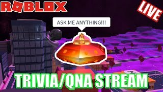 Roblox Jailbreak TRIVIA Live Stream!!! // QNA (ASK ME ANYTHING)!!!
