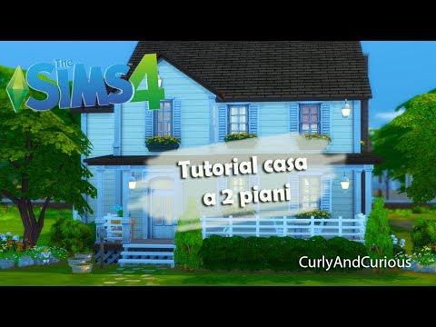 The Sims 4 - Come costruire una casa a 2 piani!!