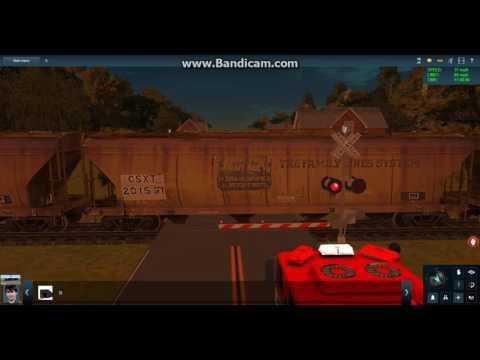 Trainz Railfanning Pt 84 (CSX & The Malfunctioning Grade Crossing)