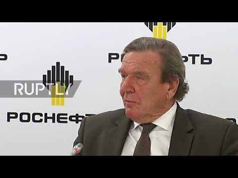 Russia: Former German Chancellor Schroeder appointed chairman of Rosneft