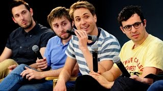 The Inbetweeners Cast Interview on the Movies and the Future, Simon Bird, James Buckley