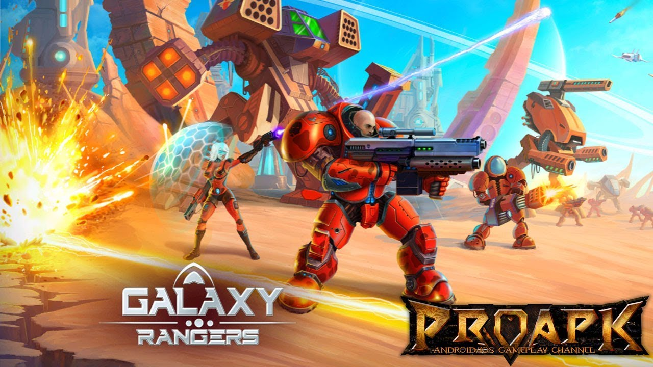 Galaxy Rangers - online strategy Gameplay Android / iOS