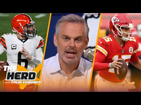 Chiefs vs. Browns is game to watch, talks Jets hiring Robert Saleh to coach —Colin | NFL | THE HERD