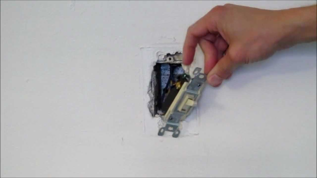 How To Replace A Light Switch Youtube Wiring Double For 2 Lights