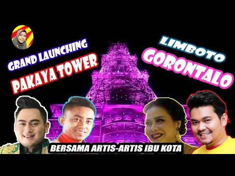 NASAR SUNGKAR BERDENDANG DI GORONTALO | LAUNCHING LIGHTING PAKAYA TOWER