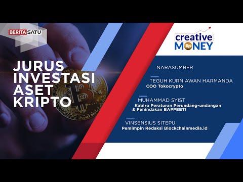 Creative Money: Jurus Investasi Aset Kripto
