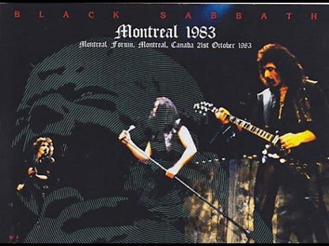 BLACK SABBATH with Ian Gillan - Born Again Tour in Montreal 83 [Full Concert]
