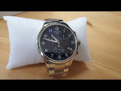 NEW Watch Unboxing - Tissot Chrono XL Classic - Swiss Quartz Blue T-Sport
