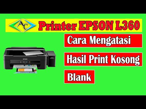 CARA MERESET PRINTER EPSON L310 - Service Required -.