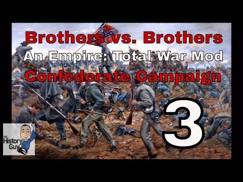 CLASH IN THE SHENANDOAH VALLEY - Empire: Total War - American Civil War Mod - CSA Campaign episode 3