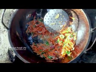 Bengali Style Noodles Cooking Recipe in Indian Village by Girl & Mom | Village Food Factory &