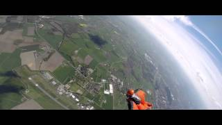Wingsuit vs Canopy – Formation Flying