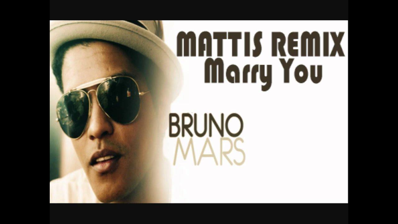 Bruno Mars - Marry You (Dj Mattis Electrouse Radio Edit ...