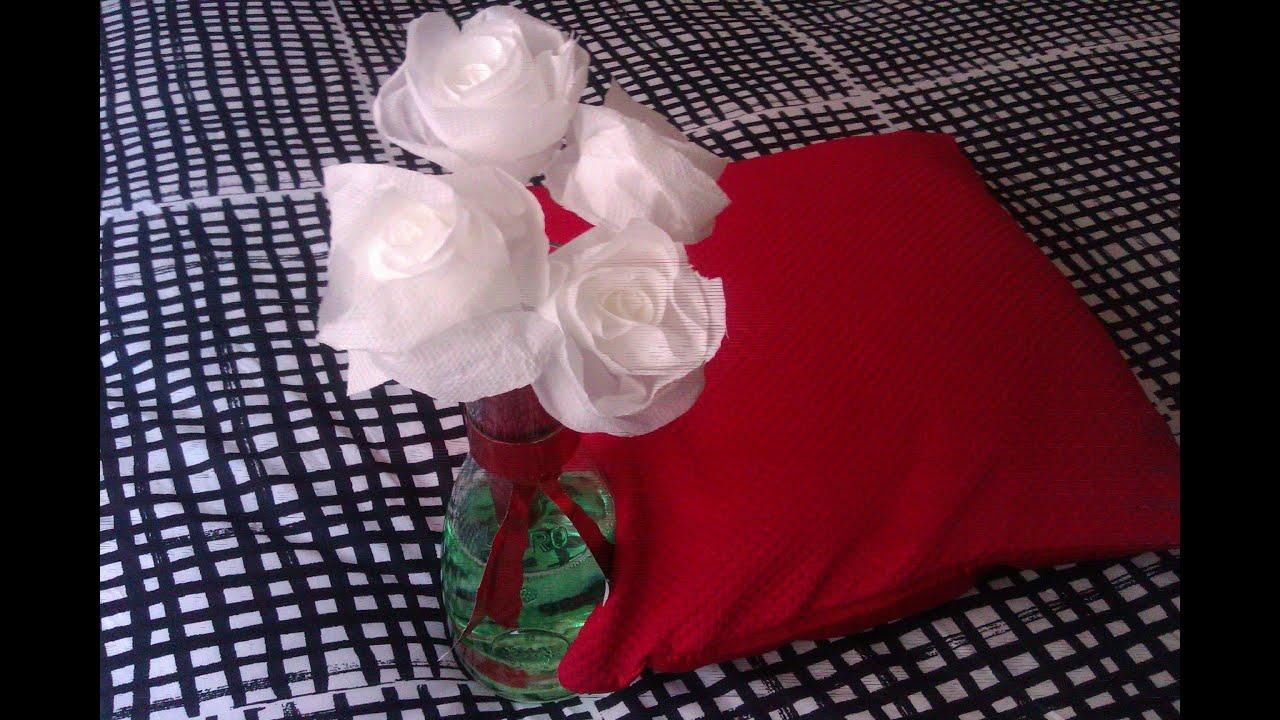 Como hacer una rosa con papel servilleta youtube - Como hacer una mosquitera ...