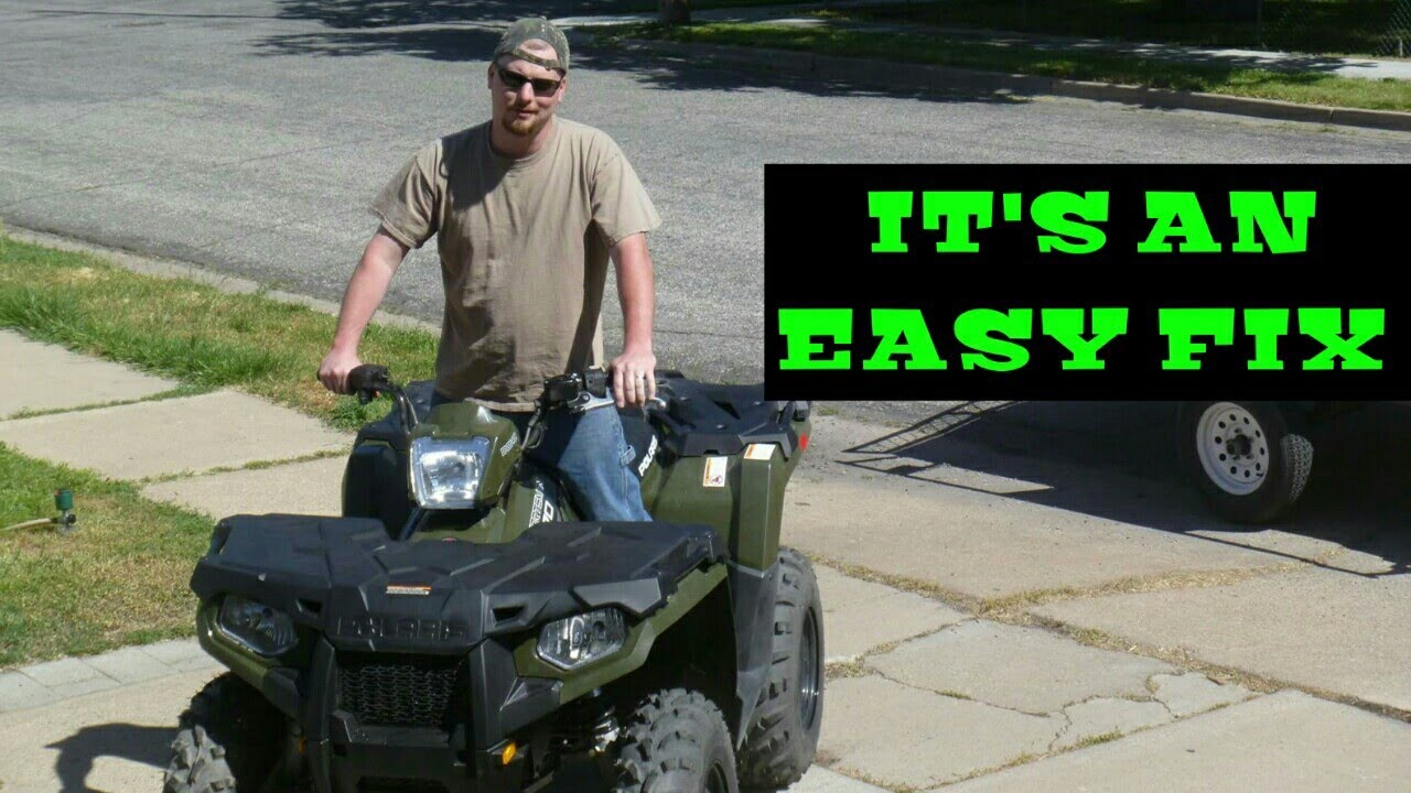 2014 Polaris Sportsman 570 Rattling noise fix