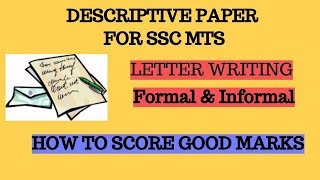 Letter Writting For Ssc Mts Part 2 Clip Fail