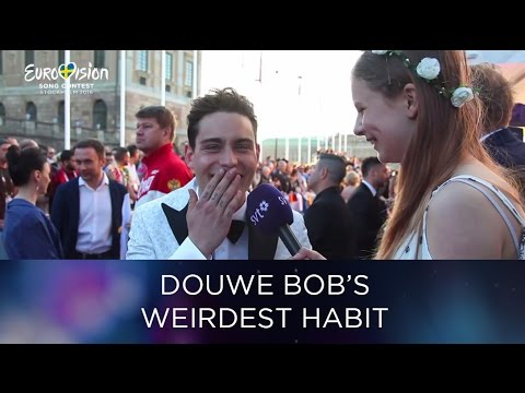 Junior Reporter Indra interviews Douwe Bob | Eurovision Song Contest 2016