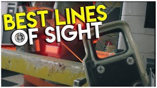 Amazing Lines Of Sight In Rainbow Six Siege | Rainbow Six Siege Tips And Tricks